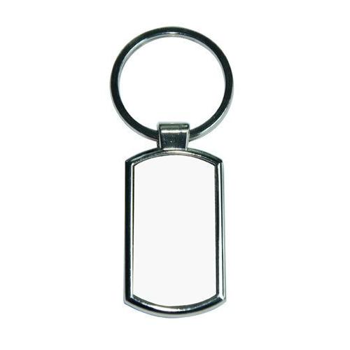 Fém kulcstartó téglalap alakú